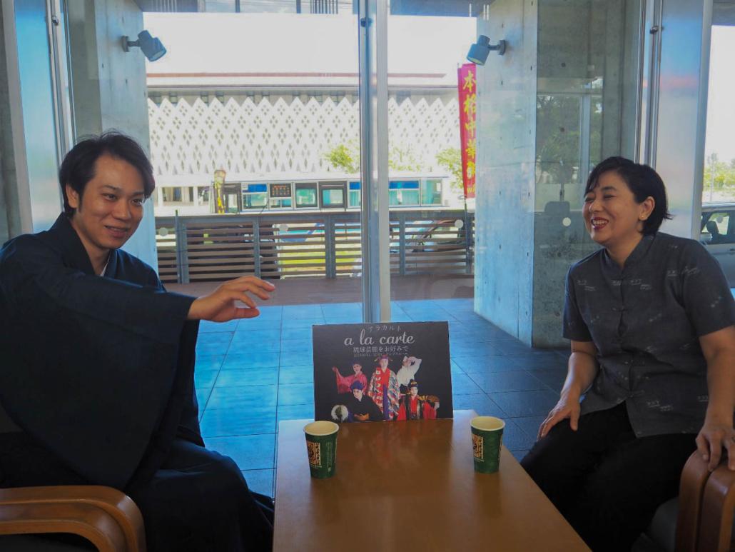 富田めぐみ×與那國太介 a la carteスペシャル対談